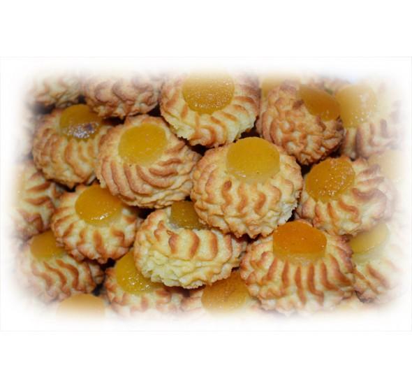 biscotti tipici siciliani - paste di mandorla albicocca