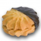 Biscotti pasticceria al burro con cioccolato